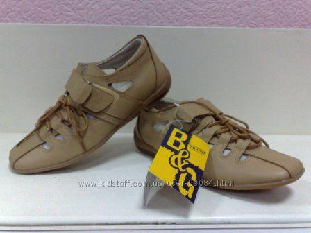 распродажа кожаных спортивных туфлей B&G, в. 33-38