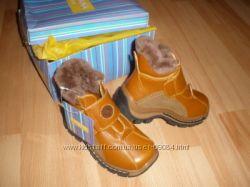 зимние ботинки, в наличии