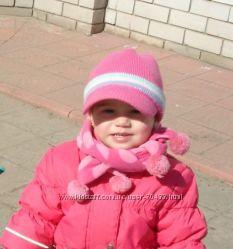 Стильная яркая шапка-кепка на вашу малышку