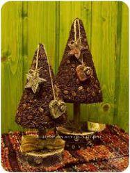 Подарок  на Новый год. Кофейное дерево, Кофейная елка