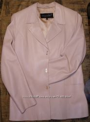 кожаный пиджачок BIGARDINI 38 размер итальянская кожа