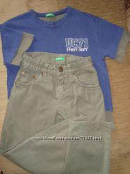 Комплект Benetton на 5-6 лет - Футболка и штаны