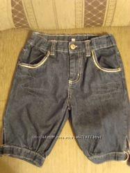 Джинсы, шорты, рубашка 122-128 см