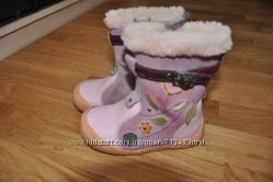 Зимние сапожки розовые и красные  -  Запорожье