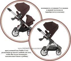 новинка коляска Stokke Crusi 2в1 цена актуальная