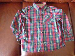 Отличная рубашка в клетку Sonoma 4T