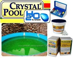 Crystal Pool. Химия для бассейнов INTEX. Хлор. Рекомендации