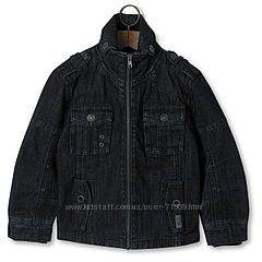 Стильная джинсовая куртка-пиджак ADAMS р. 134-140 мальчику. Новая