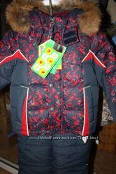 Акция комплект зимний для мальчика  Kiko Кико , Donilo Донило  рост 110-128