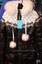 Удлиненная зимняя  куртка , полупальто, парка Kiko, Donilo рост 134-164