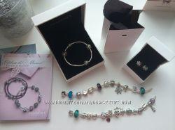 Оригинальные браслеты и шармы PANDORA  Пандора