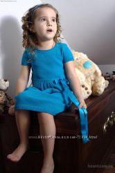 Бирюзовое платье р. 98, 104, 110см.