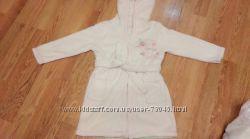 Флисовый  халат для девочки 1. 5-3 года