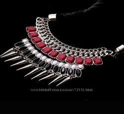 Mixed Spike Necklace