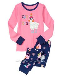 Яркие коттоновые пижамки из США