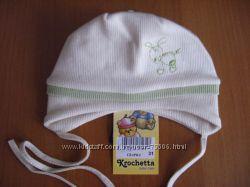 хлопковые деми шапочки от польского производителя Krochetta-по 45грн.