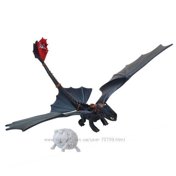 Функциональный дракон Беззубик с фигуркой овечки. Оригинал из США ... 8824e6072cfbe