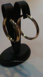 Серьги - кольца. Золото 585 пробы.
