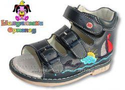 Босоножки-сандалии для мальчиков, ортопедические Шалунишка, в наличии