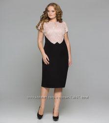 Красивеное белорусское нарядно-праздничное платье р. 54, 58