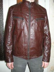 Стильная куртка с кожи PU