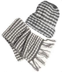 Шапка и шарф. Шапка и перчатки. Наборы. Палантин. H&M. Германия. Дешево.