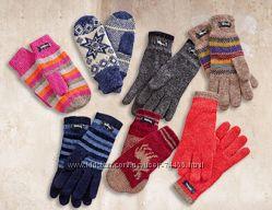 Зимние Термо  перчатки и шерстяные  THINSULATE. Германия. Разные.