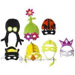 Маски, карнавальные маски, новогодние маски, ИКЕЯ Германия.  Много разных.