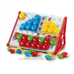 Мозаики Quercetti для детей 1-2 года - большие безопасные фишки, картинки