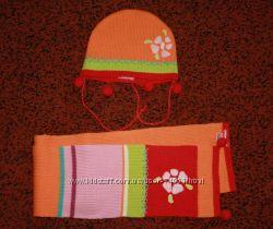 Наши шапочки осень-зима на девочку ОГ 44-50