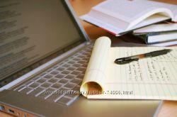 Написание статей, рерайт статей, переводы, рекламные публикации и др.