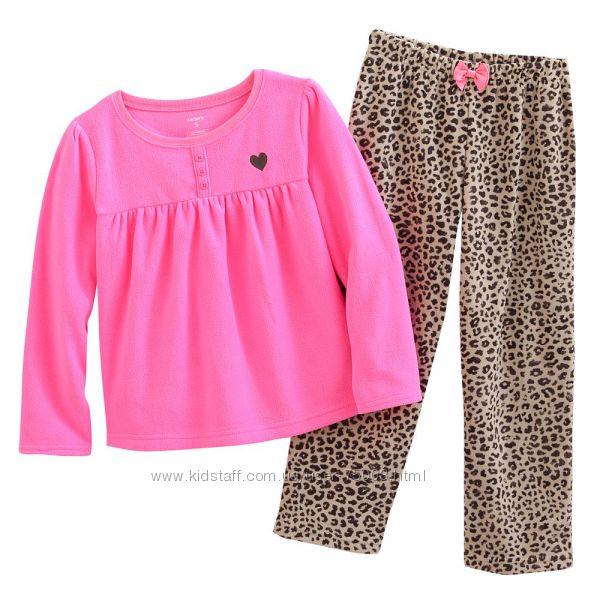 Теплые пижамки CARTERS Разные расцветки Новая коллекция