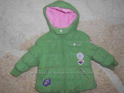 Клевая куртка NEXT сост. новой 12-18 мес. большемерит