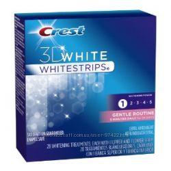 Crest Whitestrips 3D White Gentle Routine- блестящее будущее Ваших зубов