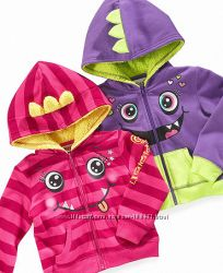 Little Girls Monster Hoodie