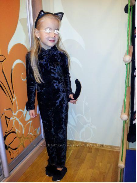 костюм черной кошки 104-116