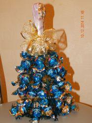 Акция Новогодние елочки  из конфет