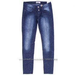 премиум брендовые джинсы оригинал Италия Испания рис. леопард