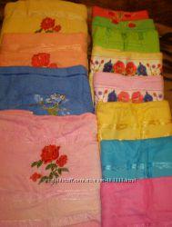 Продам новые махровые полотенца разные цвета