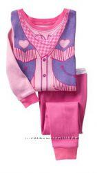 Стильная пижамка для девочки GAP 4 и 6 лет