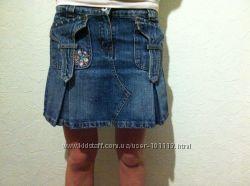 Юбка мини genifer красивенькая джинсовая XS-S. Киев или перешлю