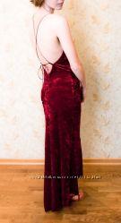 Платье бархатное BAY  XS S M
