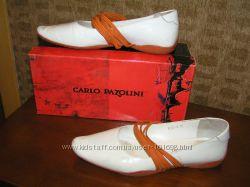 балетки с резинками рыжими Carlo Pazolini 37