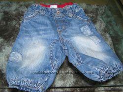 бомбовые кавалерийские джинсы H&M 62 см