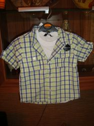 Фирменные рубашки на маленьких джентельменов