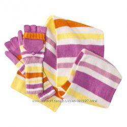 Яркие наборы для нас, любимых - шарф и перчатки.