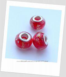 Бусины для браслетов Пандора в ассортименте