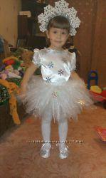 Прокат карнавальных костюмов снежинка