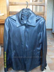 Кожаная куртка-пиджак, р М