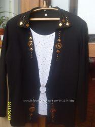Блузки, кофта большого размера
